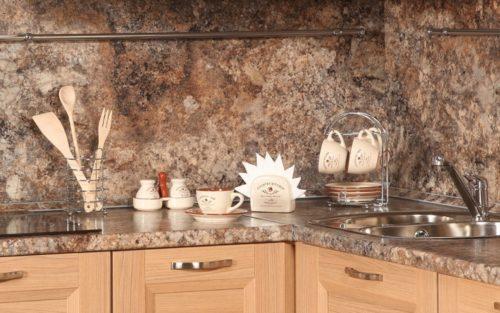 декор панель - недорогой вариант фартука для кухни своими руками