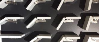 виды мебельных петель