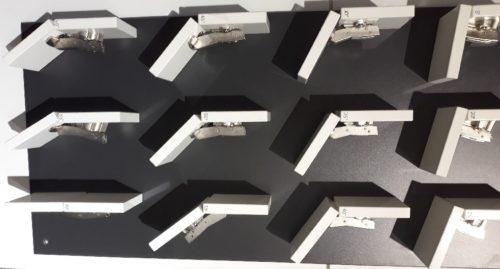 виды угловых петель для мебели