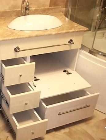 мебель для маленькой ванной