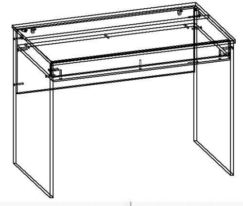 схема сборки на небольшой компьютерный стол своими руками