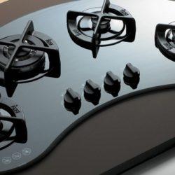 Какая варочная газовая панель лучше – нержавейка или стекло
