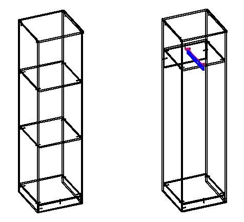 разные конструкции шкафа пенала своими руками