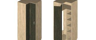 Как сделать угловой шкаф, чертежи и схема расчета деталей