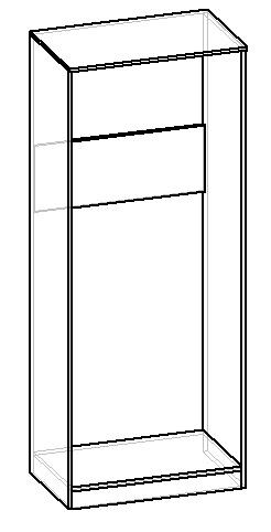 чертеж корпуса шкафа для одежды своими руками