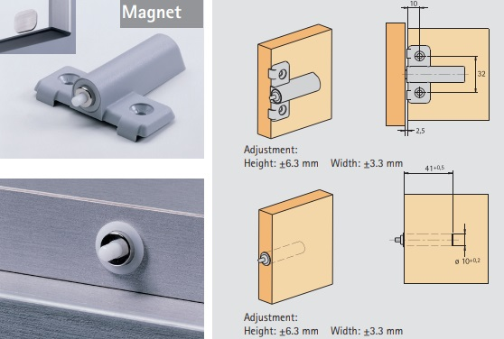 Push to Open Magnet