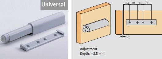 Push to Open Universal maxi