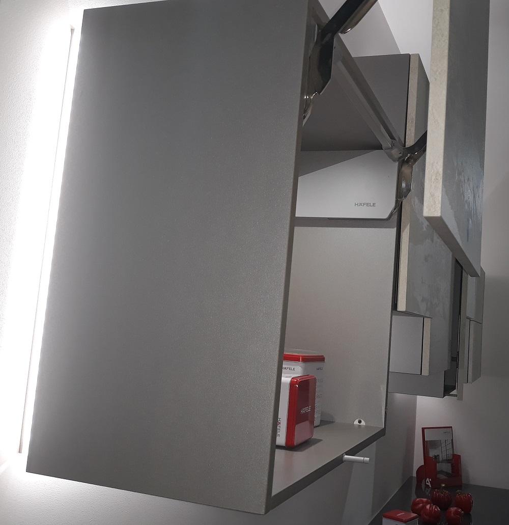 подсветка мебели на кухне
